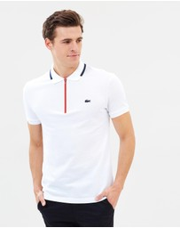 Lacoste - Slim Fit Polo with Zip