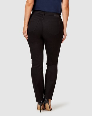 Jeanswest Curve Embracer Slim Straight Jeans - Jeans (Absolute Black)