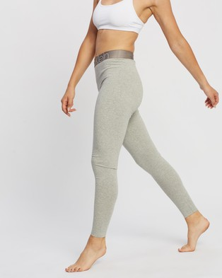 Calvin Klein Icon Lounge Leggings - Leggings (Grey Heather)
