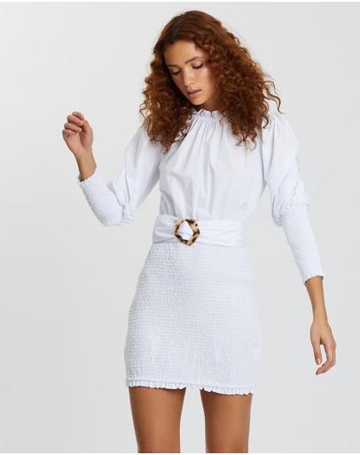 Elliatt Lorine Dress White