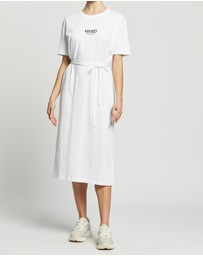 Kenzo - Belted T-Shirt Dress
