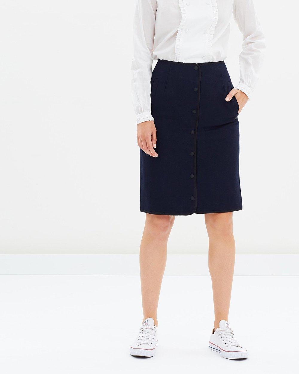 70c3cfc3ff Wool Sailor Skirt by Maison Scotch Online | THE ICONIC | Australia