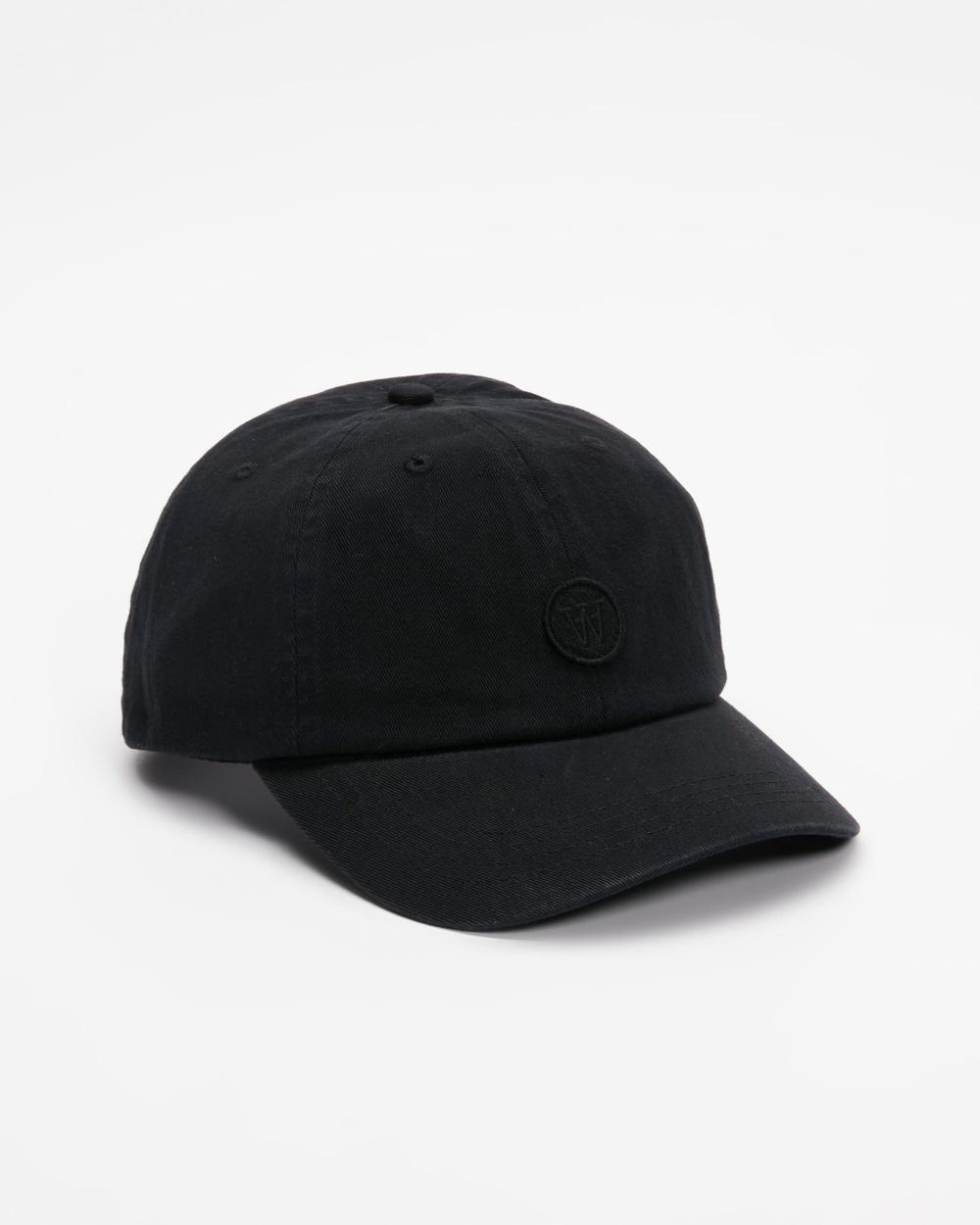 Wood Eli Cap Headwear Black