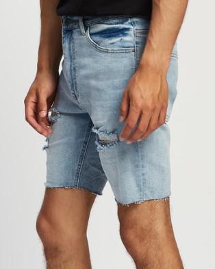 Kiss Chacey KS2 Denim Shorts - Denim (Horizon Blue)
