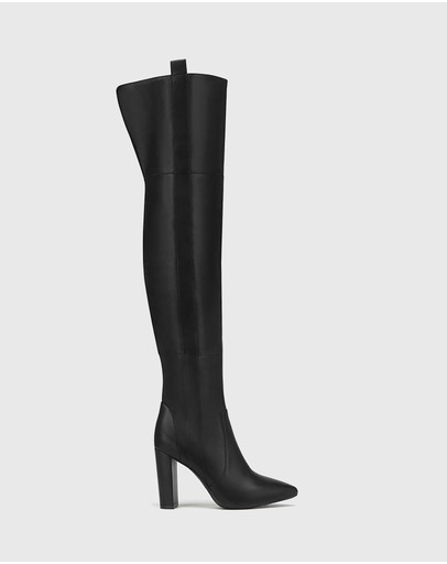 Wittner - Hansina Leather Over The Knee Boots
