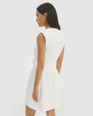 SABA Dharma Mini Dress - Dresses (Alabaster)
