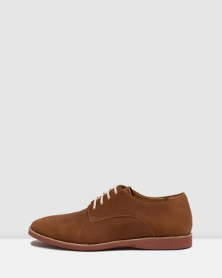 Rollie - Derby Shoes - Flats (Brown) Derby Shoes