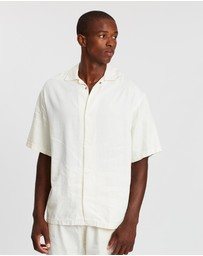 Surrounded By Ghosts - The Legrandite Snap Button Linen Shirt