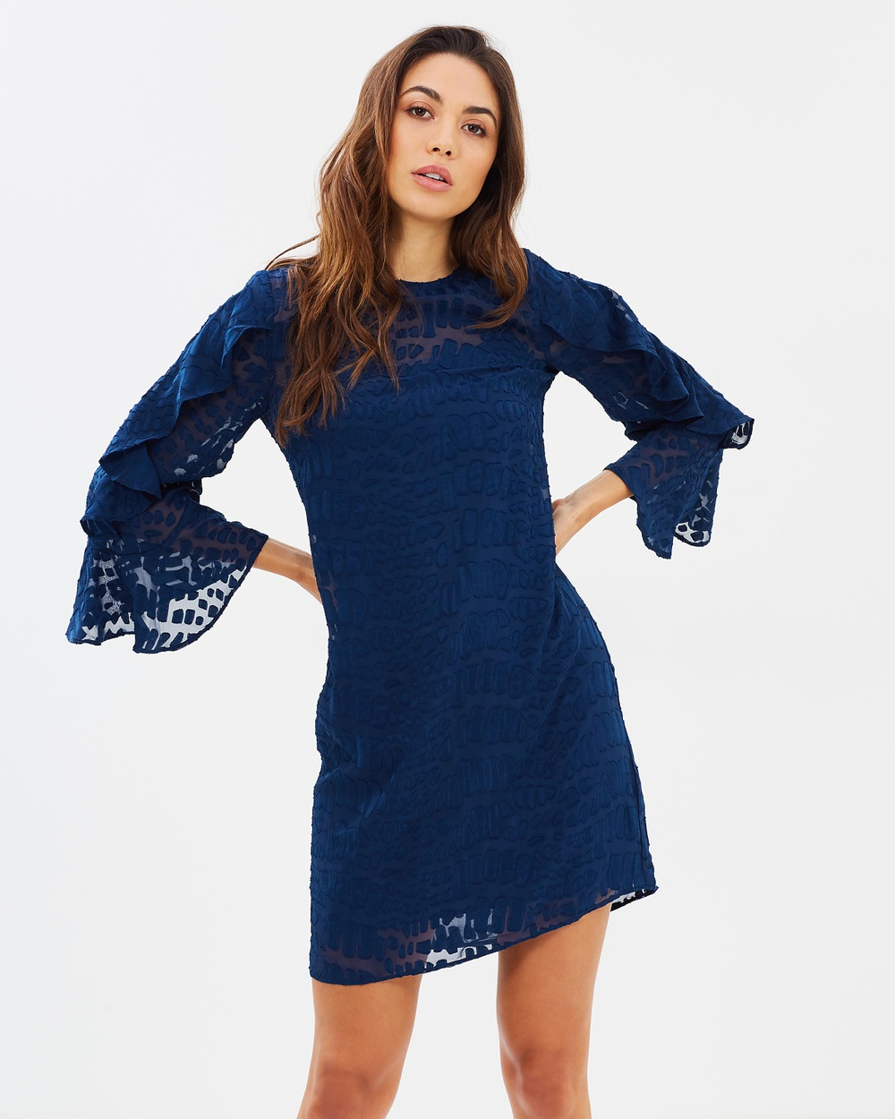 Cooper St Into The Pines Shift Dress Dresses Navy Into The Pines Shift Dress