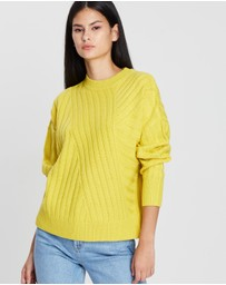 TOPSHOP - Direction Rib Jumper