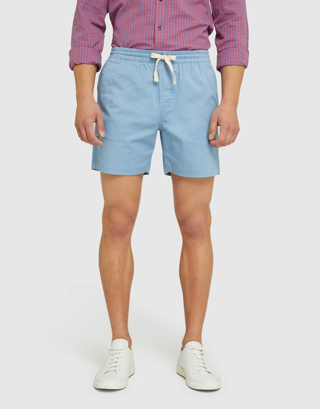 Oxford - Toby Stretch Cotton Shorts