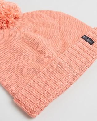 Le Bent Pom Pom Beanie - Headwear (Coral)