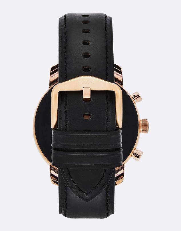 Fossil - Q Explorist Hr Black Smartwatch