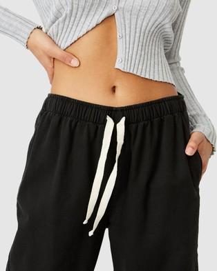 Cotton On Everyday Pants - Pants (Black)