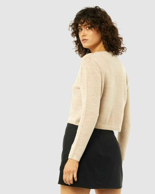 Rusty Together Crew Neck Knit - Jumpers & Cardigans (SAB)