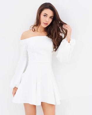Buy Shona Joy - Lori Off The Shoulder Mini Dress -  shop Shona Joy dresses online