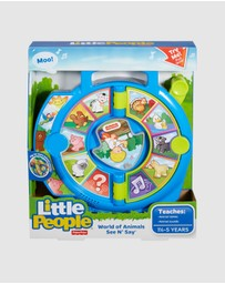 Fisher Price - Little People World of Animals See 'n Say