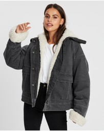 All About Eve - Utility Sherpa Jacket
