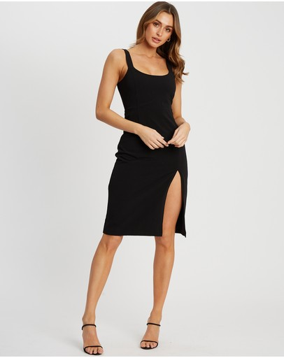 Calli Samantha Dress Black