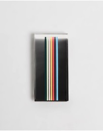 Paul Smith - Fine Stripe Money Clip