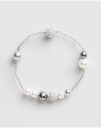Swarovski - Remix Collection Mixed Crystal Pearl Strand Bracelet