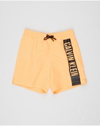 Calvin Klein - Medium Drawstring Boardshorts - Kids