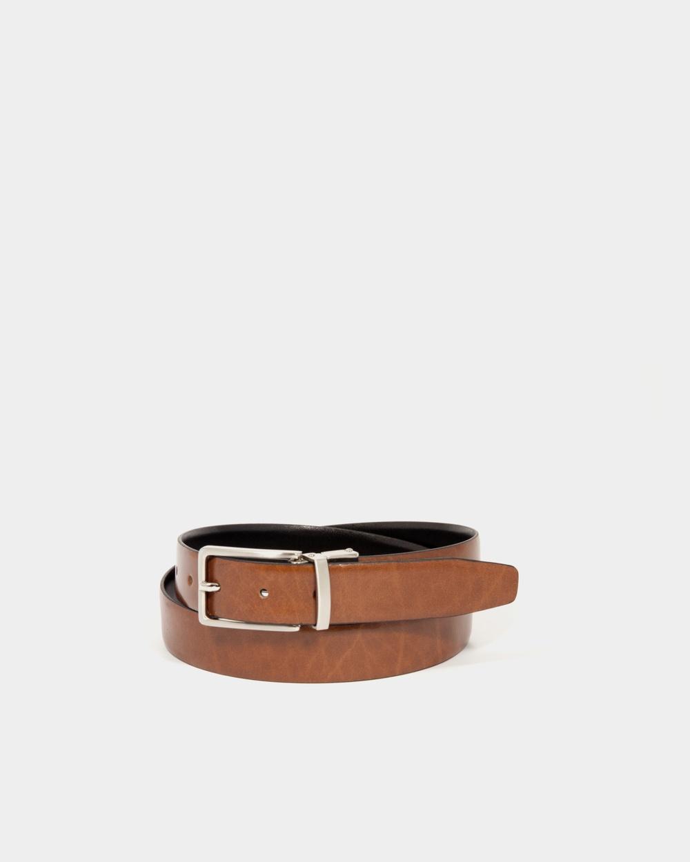 Loop Leather Co Benson Belts Tan/Black