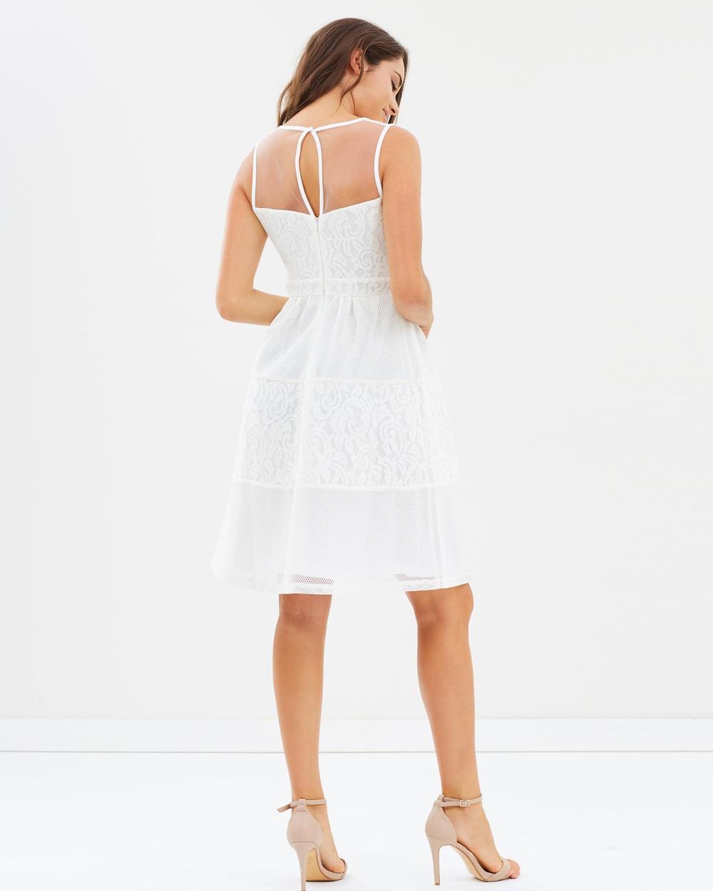 Dorothy Perkins Lace Mix Prom Dress Dresses Ivory Lace Mix Prom Dress