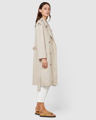 Elka Collective Dakota Trench - Coats & Jackets (Light Taupe)
