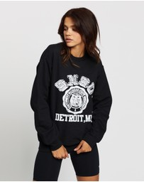 TOPSHOP - Detroit College Sweat