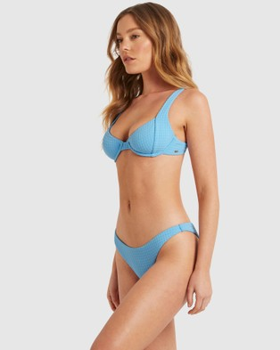 Bond-Eye Swimwear - Andress Underwire Top (Blue)