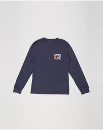 Rip Curl - Icon Cutout Long Sleeve Tee - Teens