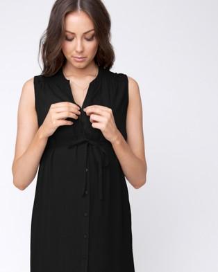 Ripe Maternity - April Dress - Dresses (Black) April Dress