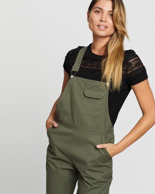 Atmos&Here Bobbie Overalls - Jumpsuits & Playsuits (Khaki)