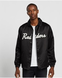 New Era - Satin Script Coach Jacket