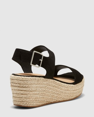 Novo Breezy - Wedges (Black)