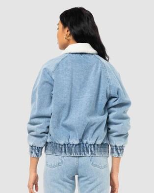 Rusty - Redeemer Denim Jacket - Denim jacket (SYB) Redeemer Denim Jacket