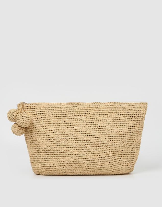 Women Tiana Woven Small Bag - Light Natural