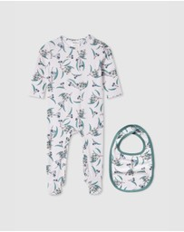 Milky - Native Romper & Bib Set - Babies