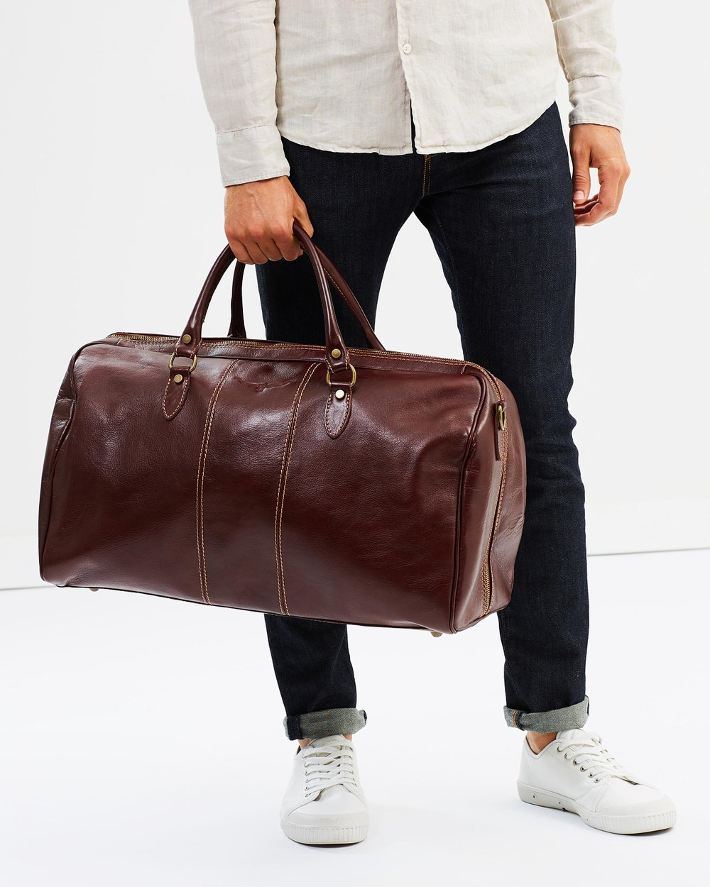 23286606cf68 Leather Duffle Bag by R.M. Williams Online