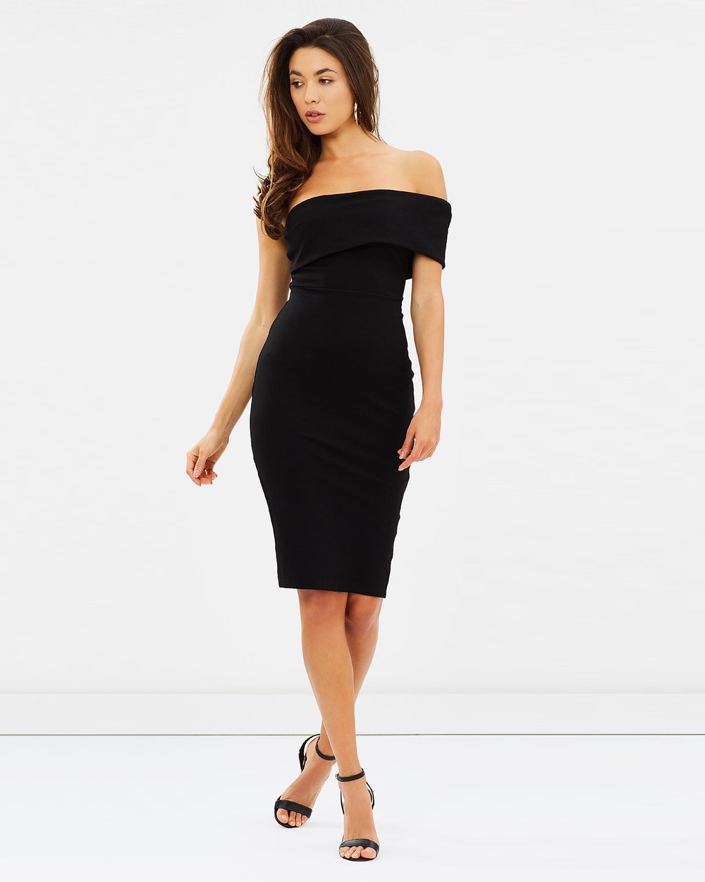 Mossman Just Maybe Dress Bodycon Dresses Black Just Maybe Dress