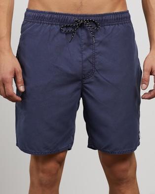 St Goliath Illusion Shorts   2 Pack - Shorts (Navy & Green)