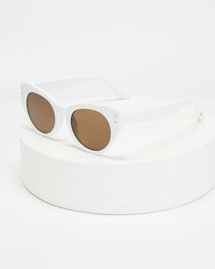 MINKPINK Haven - Sunglasses (White)