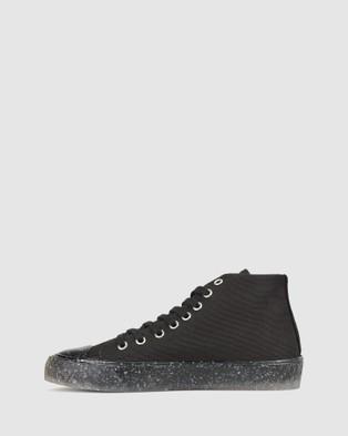 Zeroe Soho Recycled Sneakers - Lifestyle Sneakers (Black)