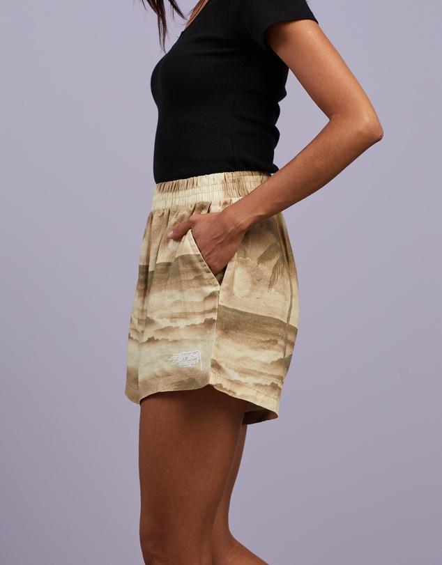 Women Island Linen Shorts