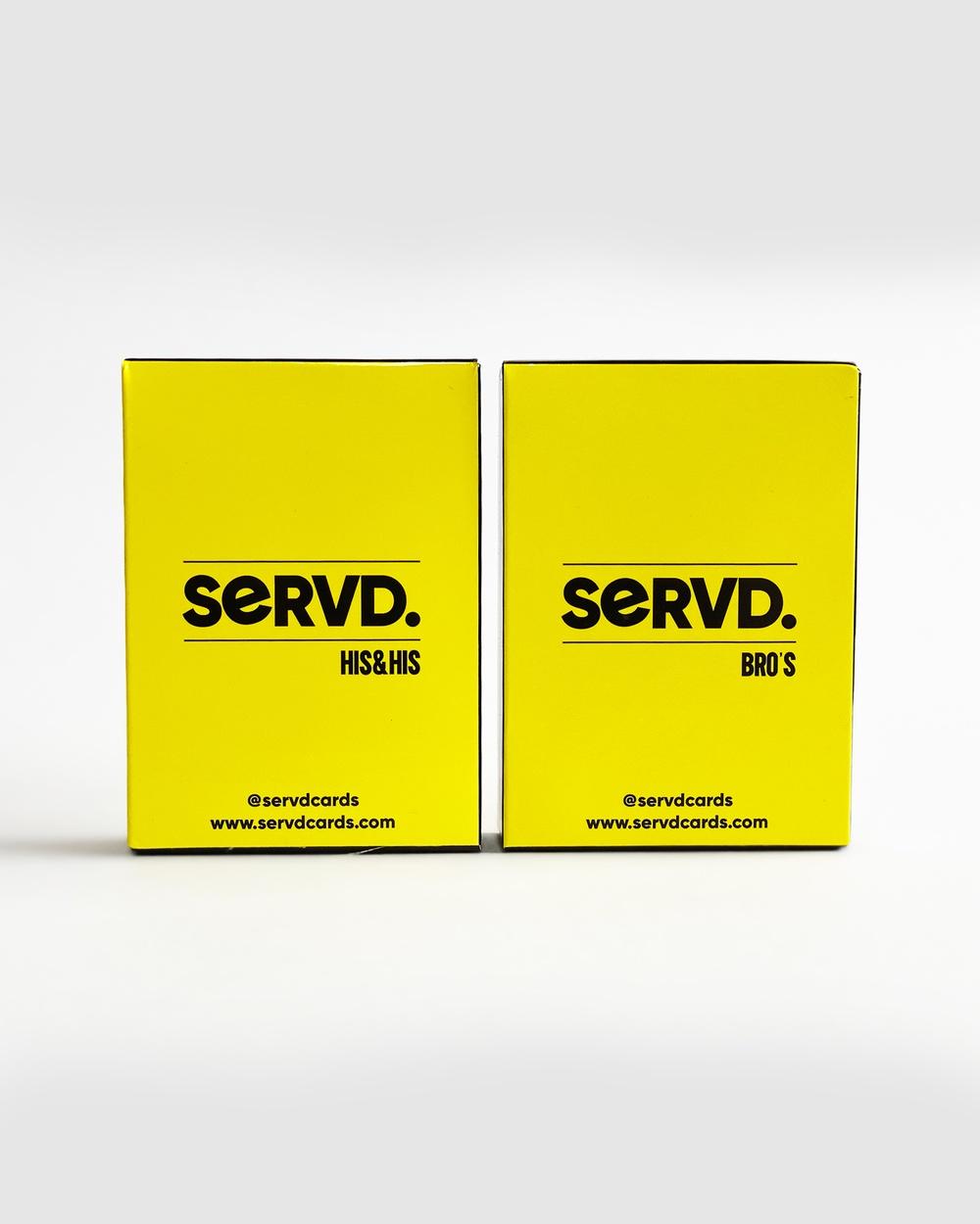SERVD His & + Bro's Accessories Yellow