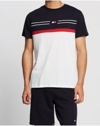 Tommy Sport - Colourblock Stripe Tee