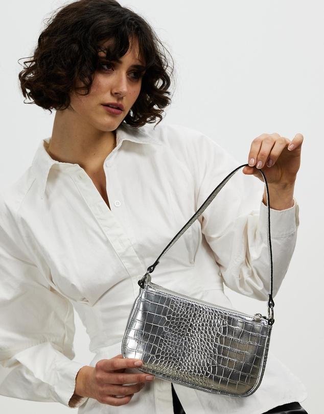 Women Metallic Shoulder Bag
