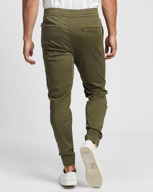Hollister Skinny Joggers - Pants (Olive)