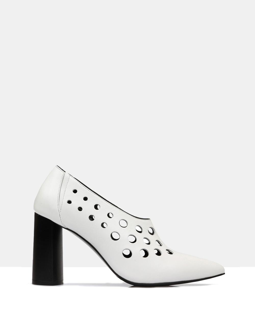 Sempre Di Imiza Heels Heels 002 Winter White Imiza Heels